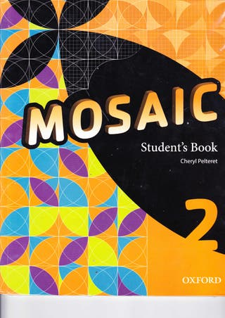 MOSAIC STUDENT´S BOOK 2