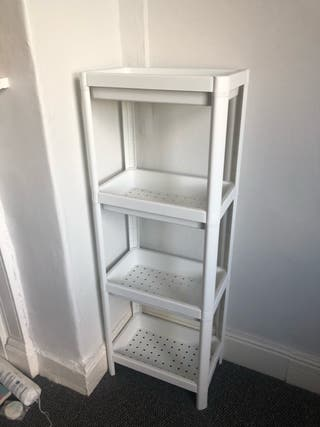 IKEA plastic shelf