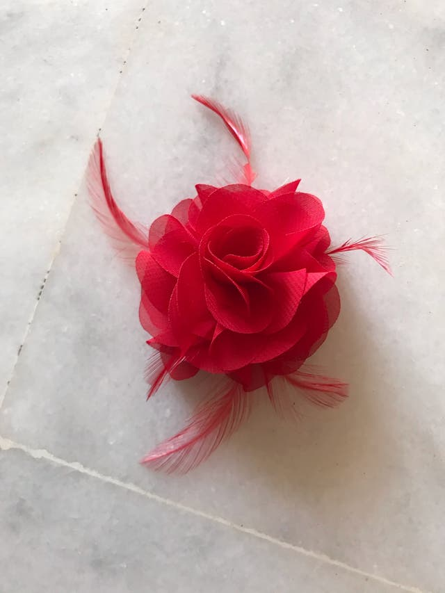Tutú ballet clásico rojo