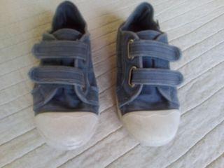 Zapatillas verano T32 Azul piedra