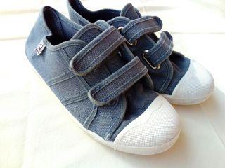Zapatillas de verano, azules T33