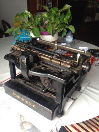 Maquina escribir Remington vintage