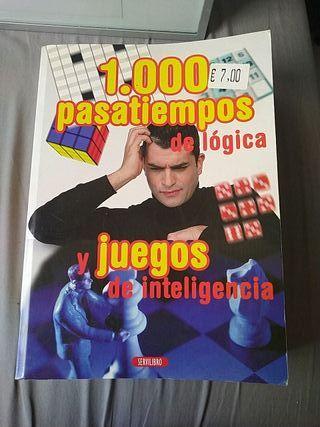 libro 1000 juegos de inteligencia