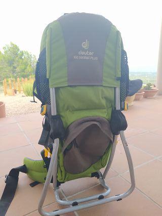 mochila montaña portabebes