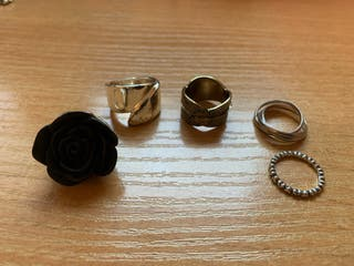 Pack 5 anillos (pack 20€)