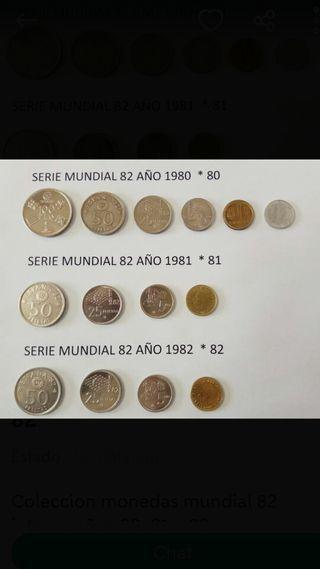 Monedas Mundial 82.