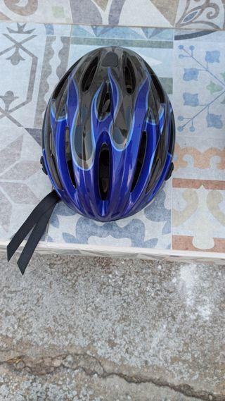 Cascos y gafas bici