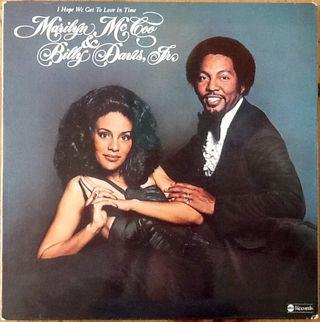 "MARILYN McCOO & BILLY DAVIS ""I HOPE WE GET..."" LP"