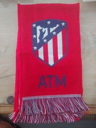 bufanda oficial Atletico de Madrid NUEVA