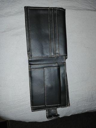 billetera piel nueva conR-FID protection