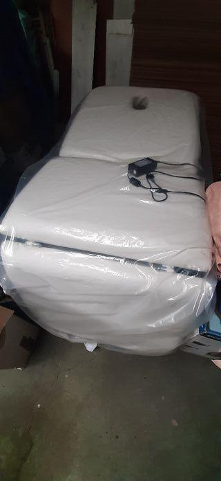 Camilla eléctrica hidráulica 3 cuerpos