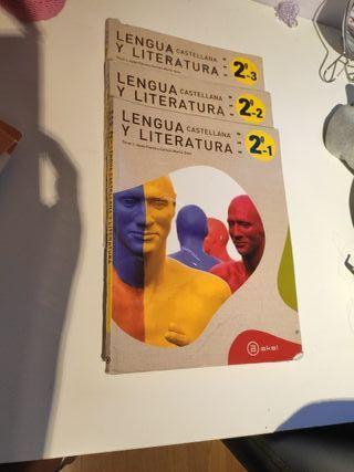 lengua castellana y literatura. anal 2 de la ESO
