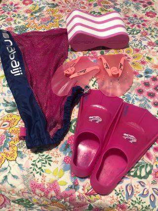 Pack para entrenar natación Kalenji