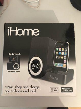 Altavoz despertador iPhone iPod