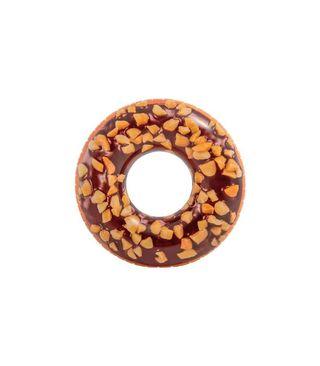 Flotador rueda donut chocolate 114 cm