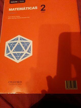 Matemáticas 2° ESO Oxford Vol. 2
