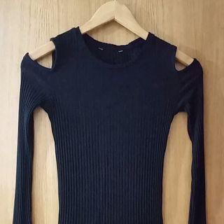 Camiseta elástizada de Zara.