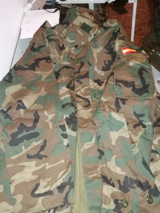 chaqueta militar talla 2