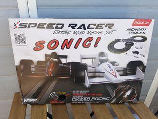 NUEVO Circuito carreras electrónico Speed Racer