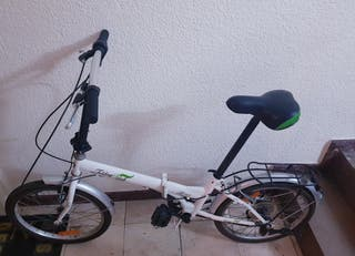 bicicleta plegable con cambio de 6 velocidades