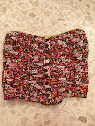 Top corset Bershka