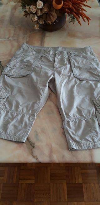 pantalon corto beige