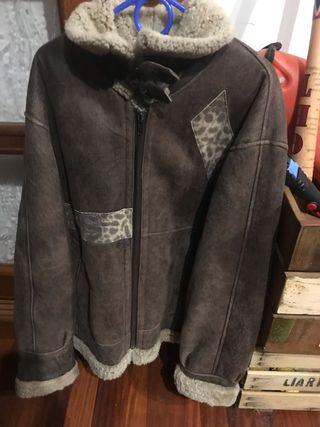 Pelliza cazadora chaqueta aviador moto