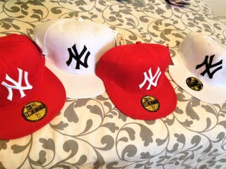Lote 2 Gorras New Era béisbol New York Yankees MLB