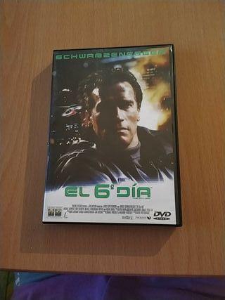 DVD de la película El 6° día