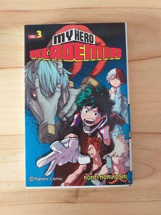 Manga - My hero Academia vol.3