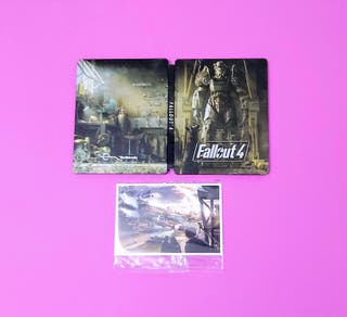 Steelbook + Postales Fallout 4