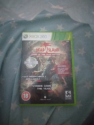 """Dead island """"Game of the year edition"""" Xbox 360"""