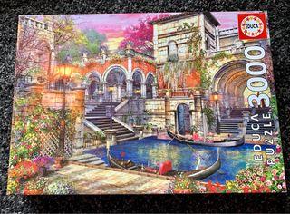 """Puzzle """"Romance en Venecia"""", 3.000 piezas"""