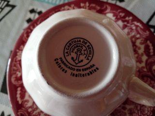 JUEGO DE CAFE LA CARTUJA