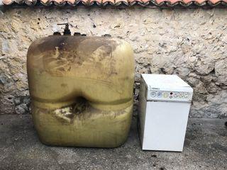 Caldera de gasoil Ferroli con depósito