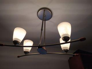 lámpara techo como nueva