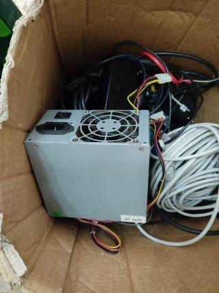 lote de cables nuevo y más cosas