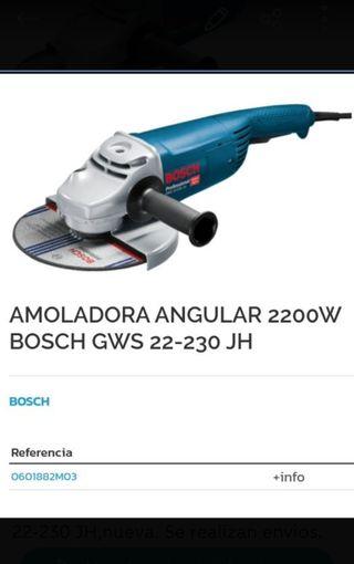 Amoladora radial Bosch 230mm
