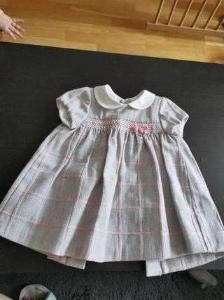 Vestido bebé Mayoral Talla 4 a 6 meses