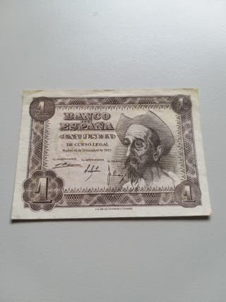 1 Peseta 1951 España