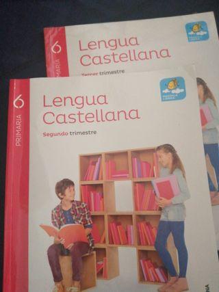 Libros 6 primaria Lengua Castellana