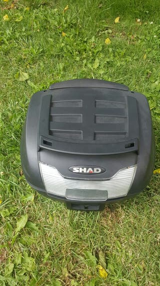 maleta shad sh40 completa para 2 cascos