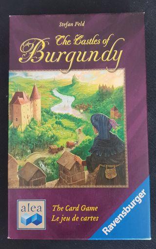 Castillos de Borgoña de cartas - Juego de Mesa