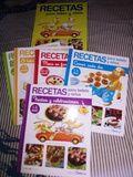Libros recetas de cocina para bebés y niños