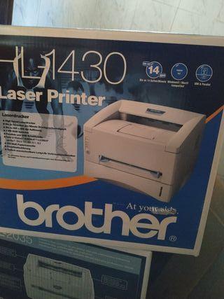 Impresora láser tóner monocromo Brother HL 1430