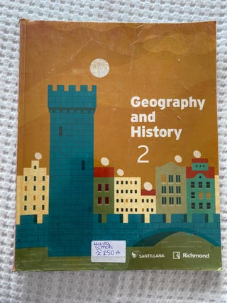 Geography and history 2 eso student's book 9788468