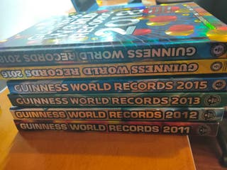 Pack libros Guiness World Record