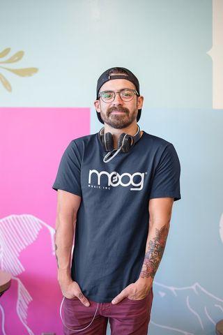 Camisetas sintetizador Moog , Akai , Novation,korg