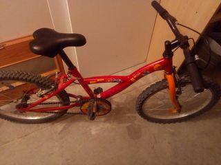 """Bicicleta niñ@s 16"""""""