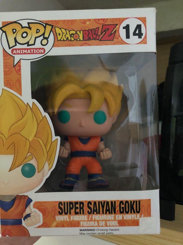 Funko pop Goku Súper Saiyan
